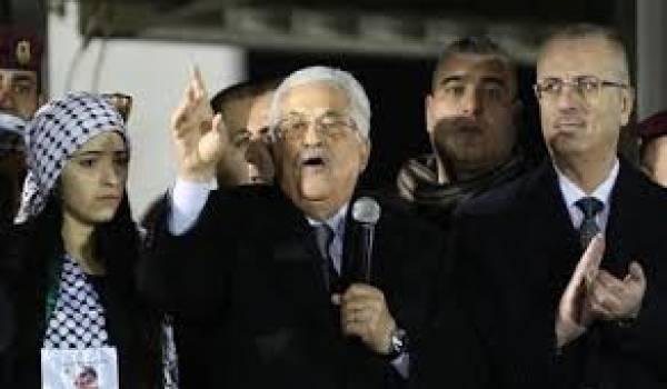 L'autorité palestinienne subie de graves pressions de la part d'Israël.