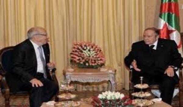 Essebsi et Bouteflika, deux dinosaures des anciens régimes toujours chefs d'Etat