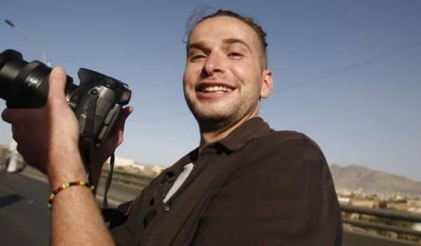 Luke Somers, photoreporter tué au Yémen.