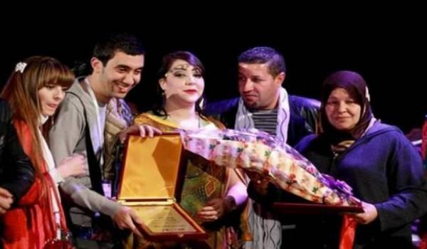 Les membres du Théâtre régional Batna