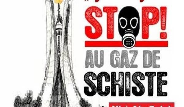 L'affiche de l'appel au rassemblement.