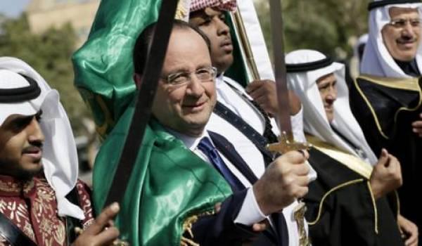 """Nonobstant les violations des droits de l'homme, François Hollande estime que l'Arabie saoudite est un """"partenaire stratégique"""""""