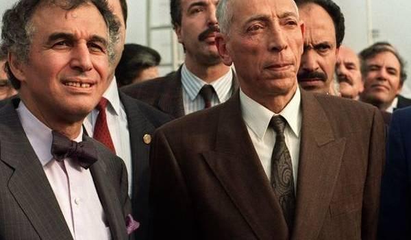 Mohamed Boudiaf à son retour avec Sid Ahmed Ghozali devenu son chef de gouvernement.