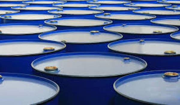 Le baril de pétrole en baisse.