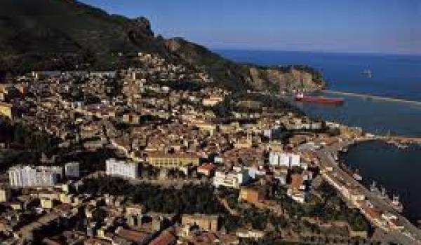 La ville de Bejaïa.