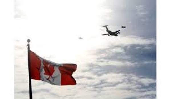 Le Canada a renforcé la surveillance de son territoire.