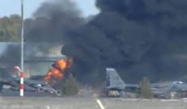 Le F16 participait à un exercice sous l'égide de l'OTAN
