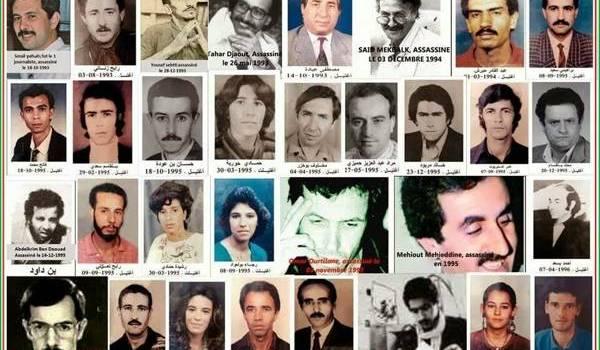 123 journalistes et employés de presse ont été assassinés en Algérie.