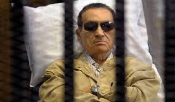 Hosni Moubarak.
