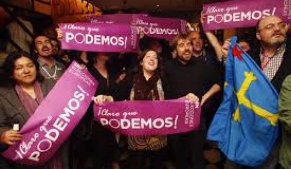Podemos, l'espoir d'une vision politique novatrice et populaire.