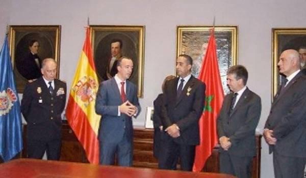 Le chef de la DST marocain déjà décoré par les autorités espagnoles.