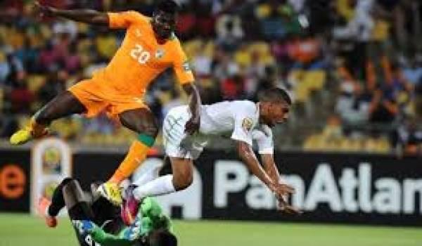 La Côte d'Ivoire a éliminé l'équipe d'Algérie.