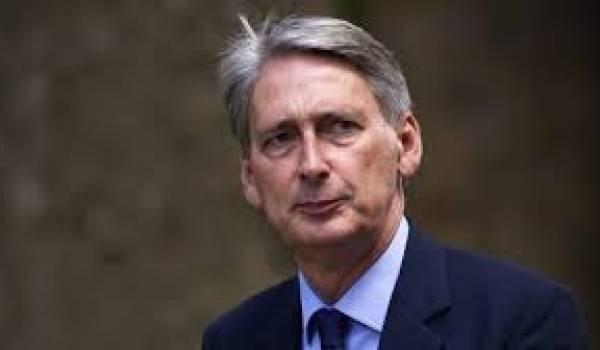 Le secrétaire d'Etat britannique des Affaires étrangères et du Commonwealth, Philipp Hammond,