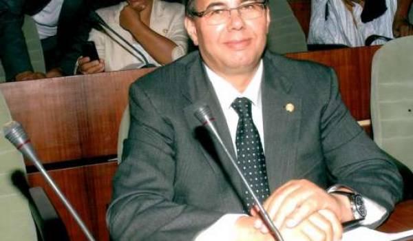 Le député Djamel Bouras.