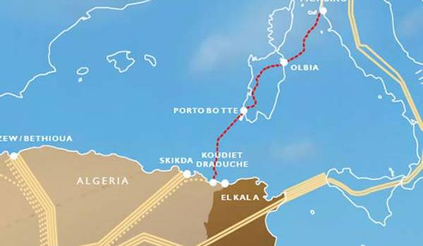 Le gazoduc Galsi traversera la Sardaigne italienne pour alimenter l'Europe.