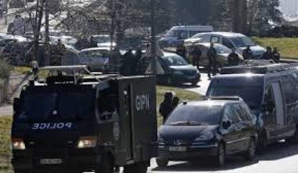 Le Groupe d'intervention de la police nationale (GIPN) s'est déployé dans la cité de la Castellane
