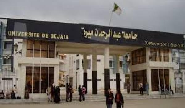 Université Abderahmane Mira de Bejaia.