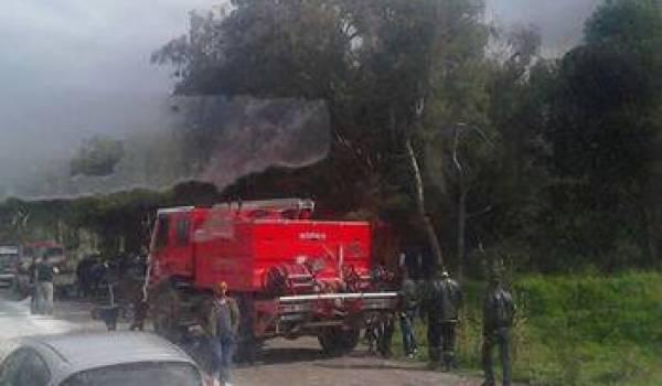 L'accident a fait trois blessés.