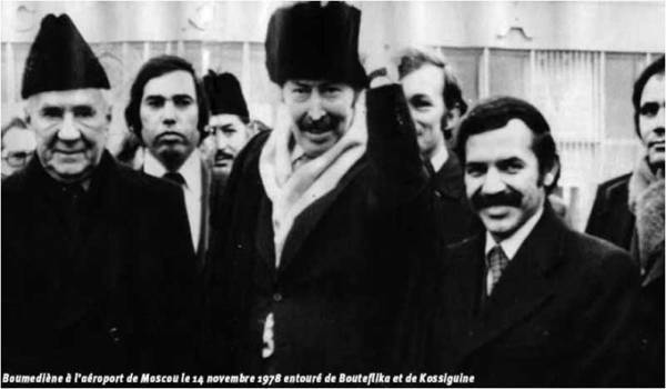 Boumediene et Bouteflika