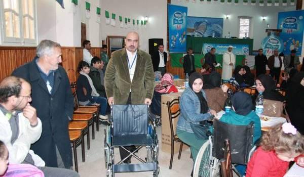 50 fauteuils roulants aux femmes de Larbaa et Bouinane