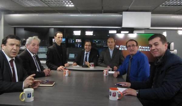 Le Club de la presse de BRTV.