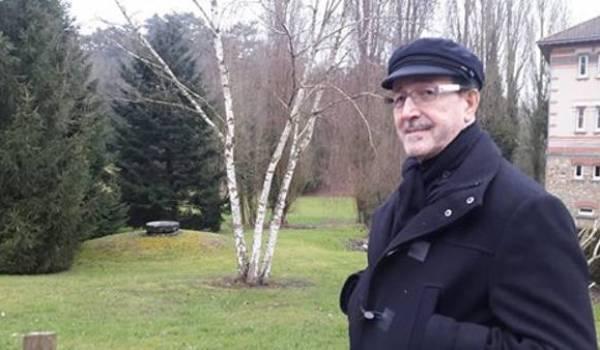 Lounis Aït Menguellet au centre de réadaptation cardiaque de Bligny il y a deux jours.