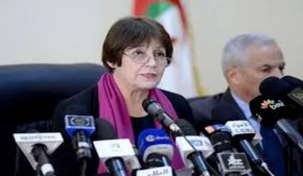 Nouria Benghebrit-Remaoun, ministre de l'Education nationale.