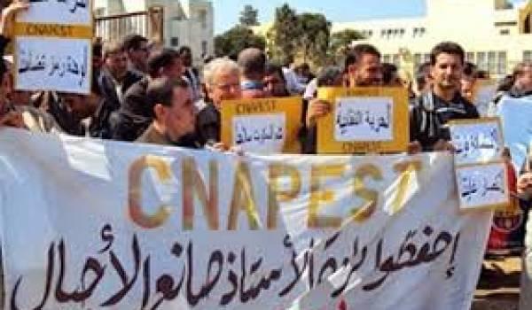 Grève du Cnapeste: 581 enseignants radiés définitivement de la fonction publique