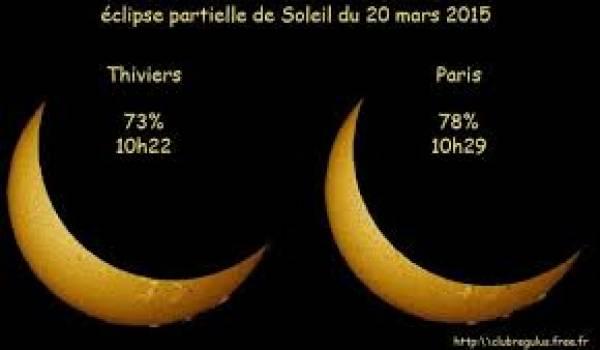 L'éclipse est prévue pour vendredi 20 mars.