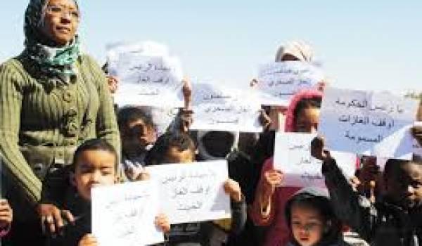 Les femmes d'In Salah rappellent Bouteflika à ses engagements.