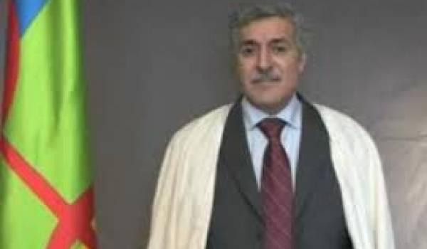 Ferhat Mehenni, initiateur du GPK