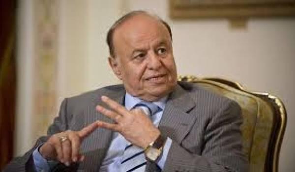 Le président Hadi désarmé devant l'avancée des Houthis.