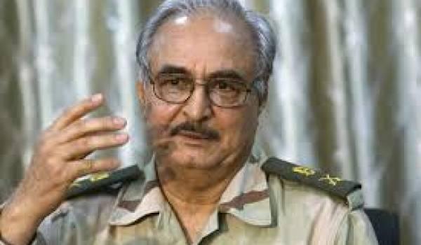 Le général Khalifa Haftar en quête de légitimité.