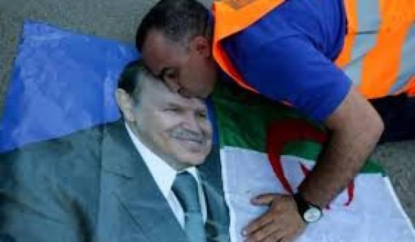 Bouteflika idolatré.