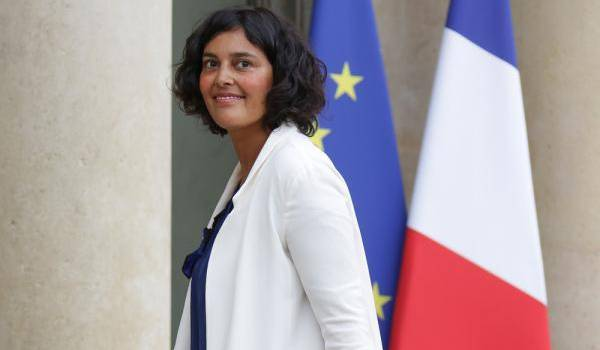 Myriam El Khomri, la ministre du Travai