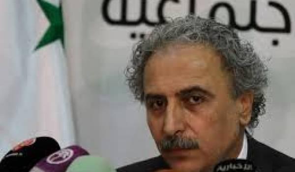 L'opposant syrien Louay Hussein