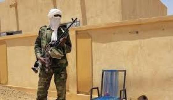 Un Touareg du MNLA. La paix armée dans l'Azawad.