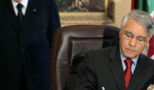 Bouteflika et son ami Chakib Khelil, le ministre par qui les scandales arrivent.