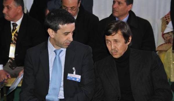 Ali Haddad et Saïd Bouteflika.