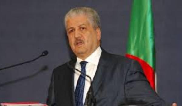 Abdelmalek Sellal a avoué que l'Algérie doit se serrer la ceinture.