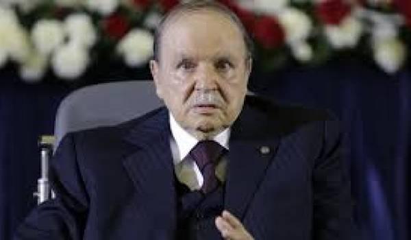 Abdelaziz Bouteflika, le parrain du régime.