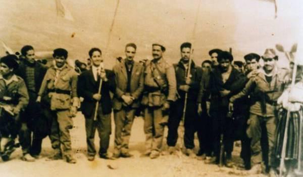 Toute l'histoire du roman est partie de cette photo de maquisards de la wilaya III.