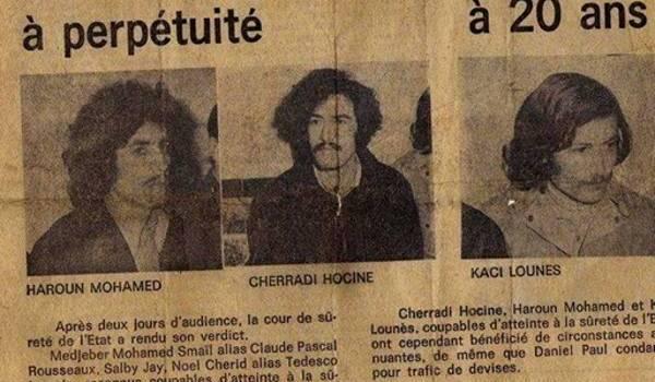 Une coupure du journal El Moudjahid.