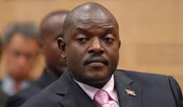 Le président Nkurunziza est candidat à la présientielle
