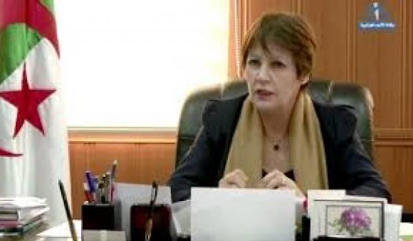 La ministre de l'Education nationale.
