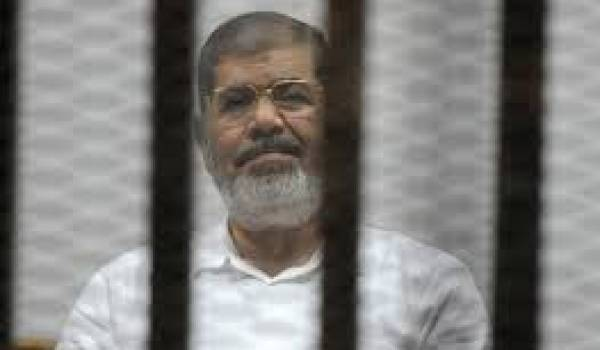 Mohamed Morsi condamné.