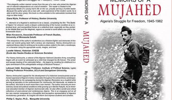 La couverture d u livre de Hamou Amirouche.