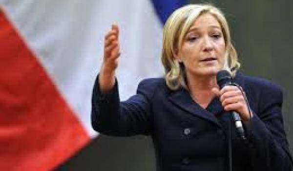 Marine Le Pen contre son père.