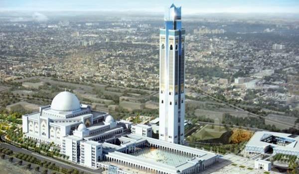 La grande mosquée d'Alger est essentiellement construite par des Chinois.