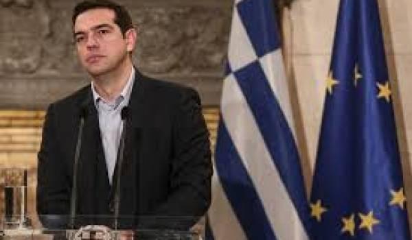 Alexis Sipras, premier ministre grec.